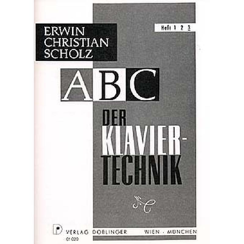 Titelbild für DO 01020 - ABC DER KLAVIERTECHNIK 3
