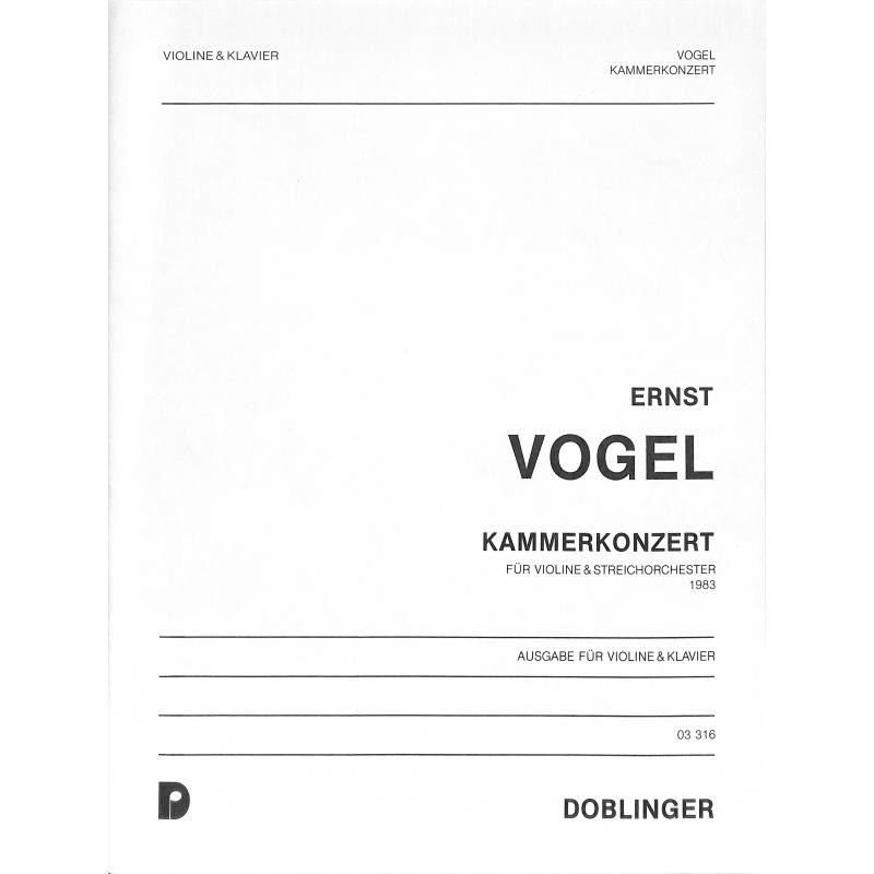 Titelbild für DO 03316 - KAMMERKONZERT