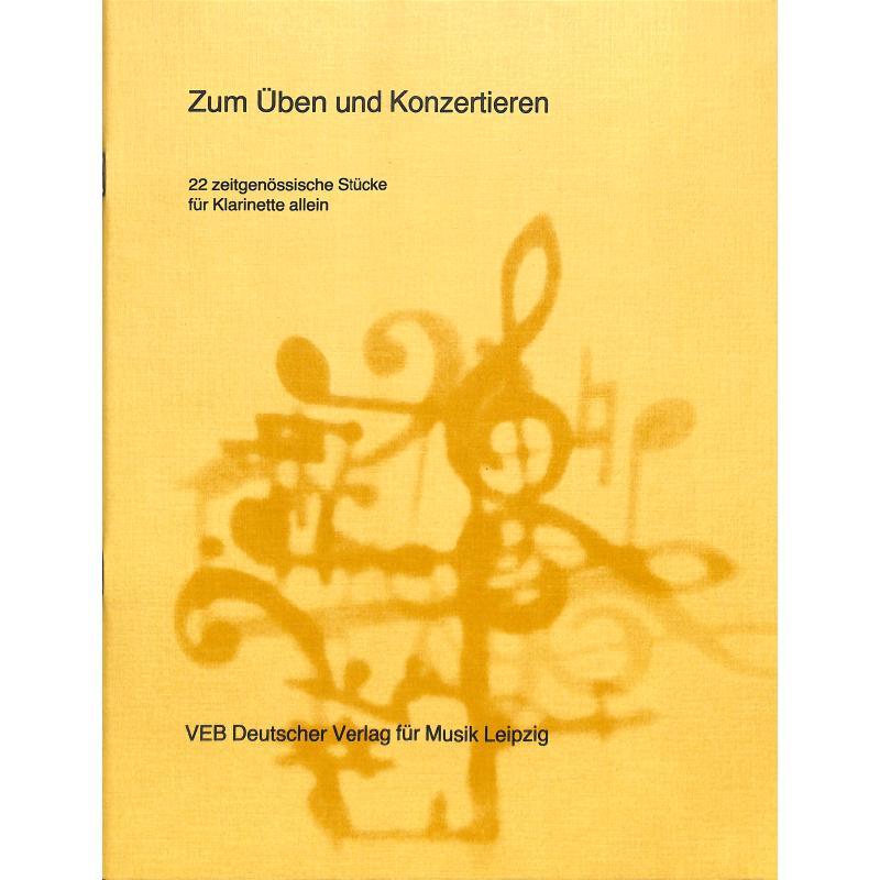 Titelbild für DV 32122 - ZUM UEBEN + KONZERTIEREN
