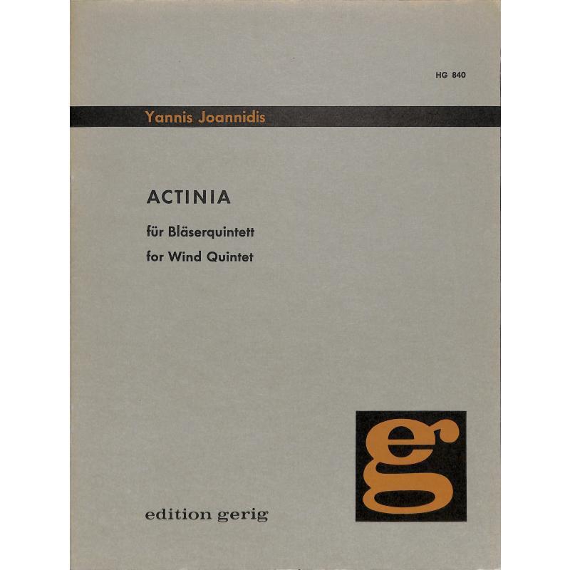 Titelbild für EBBG 840 - ACTINIA
