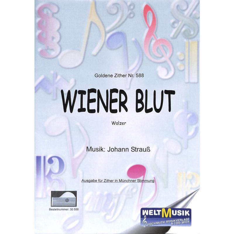 Titelbild für EBERLE 588 - WIENER BLUT OP 354