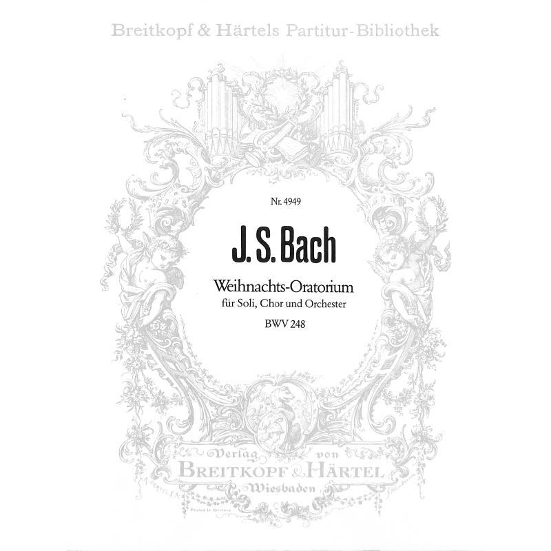 Titelbild für EBPB 4949 - WEIHNACHTSORATORIUM BWV 248