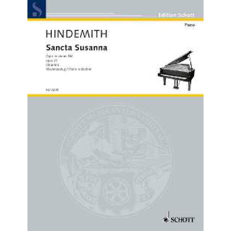 Titelbild für ED 3204 - SANCTA SUSANNA OP 21