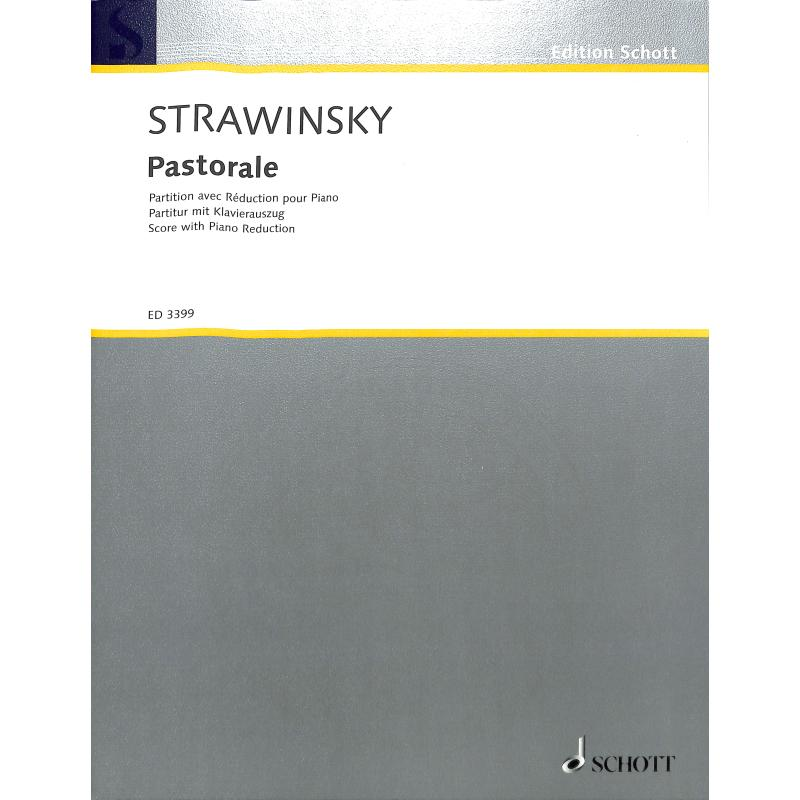 Titelbild für ED 3399 - PASTORALE
