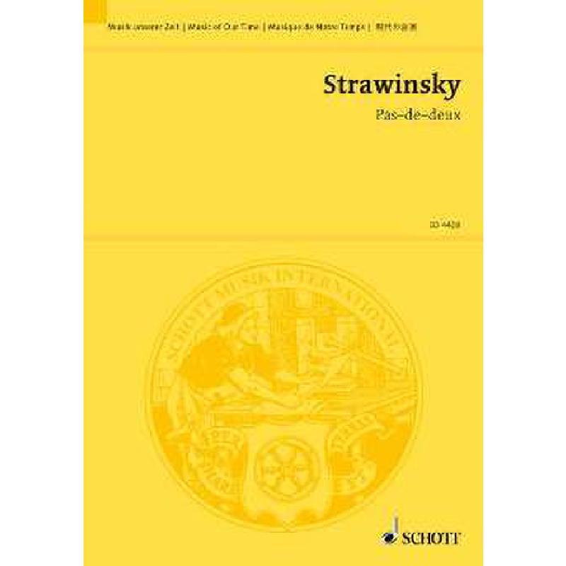 Titelbild für ED 4409 - PAS DE DEUX NACH TSCHAIKOWSKY (DORNROESCHEN)