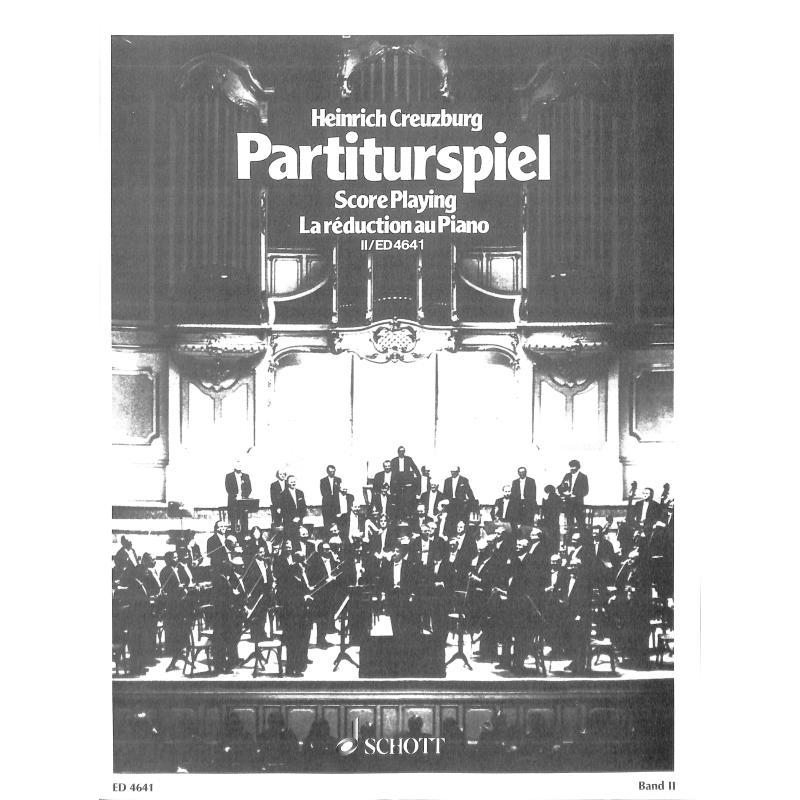 Titelbild für ED 4641 - PARTITURSPIEL 2 - STIMMTAUSCH