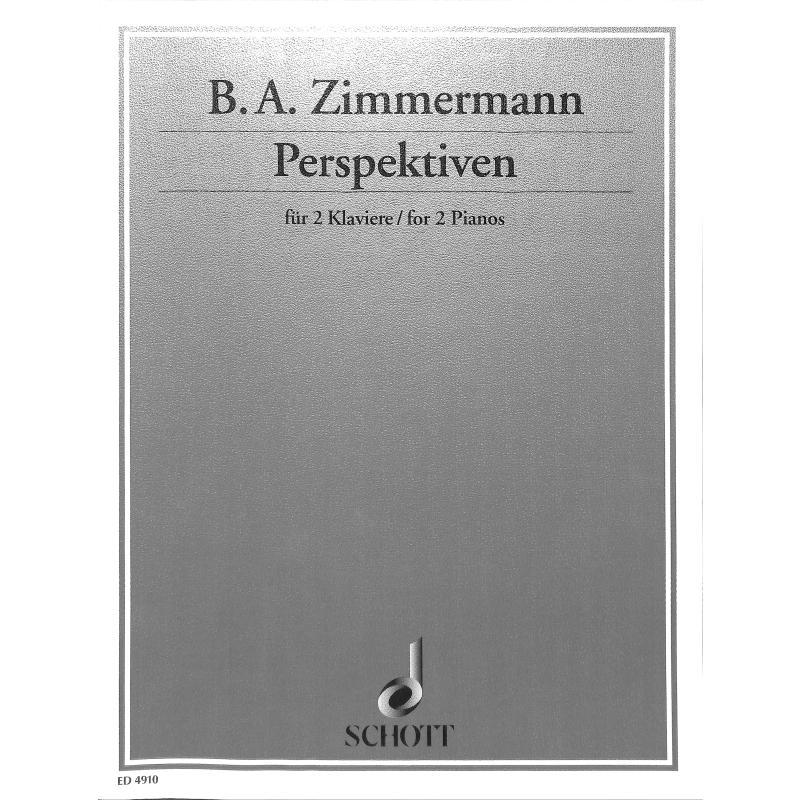 Titelbild für ED 4910 - PERSPEKTIVEN MUSIK ZU EINEM IMAGINAEREN BALLETT