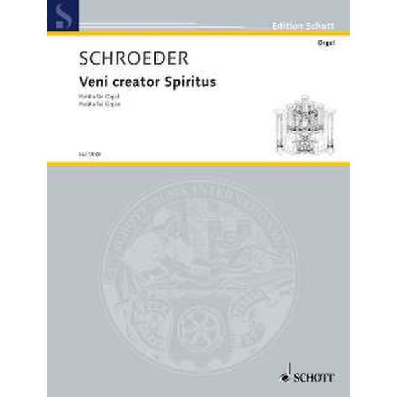 Titelbild für ED 4989 - VENI CREATOR - PARTITA