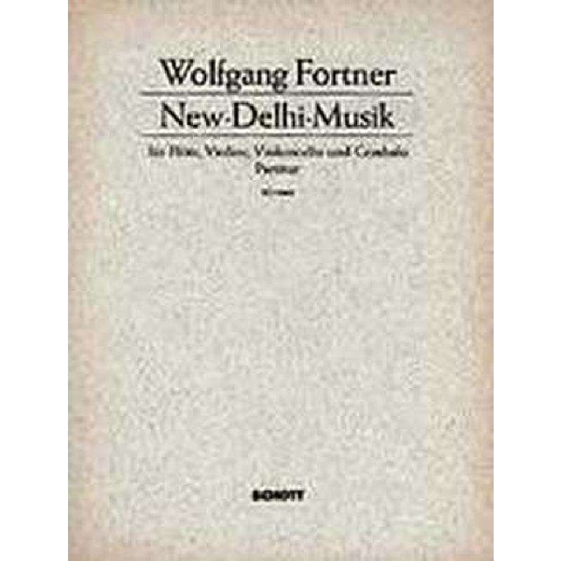 Titelbild für ED 5064 - NEW DELHI MUSIK