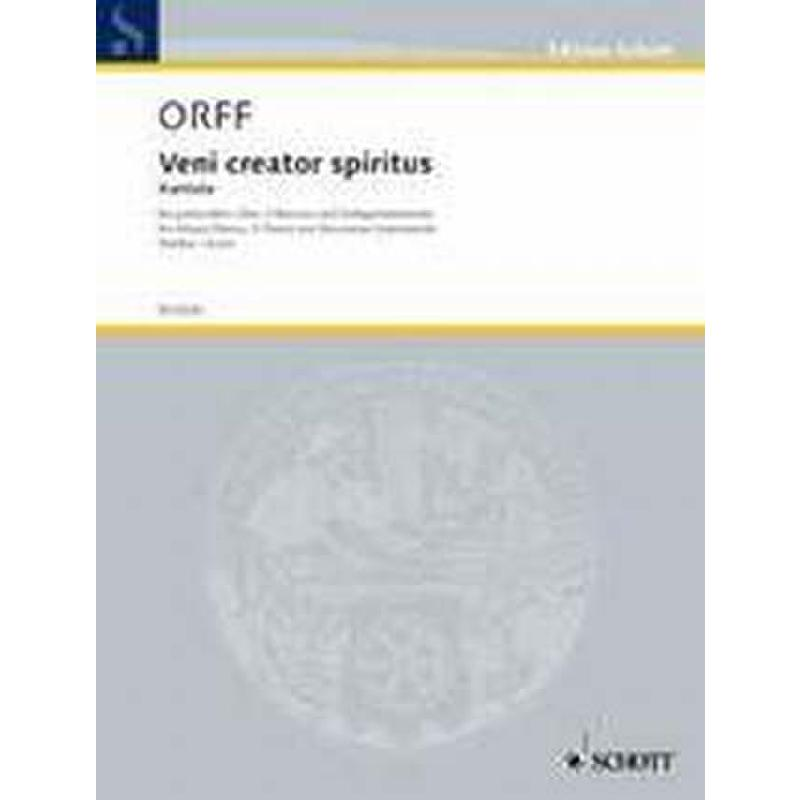 Titelbild für ED 6020 - VENI CREATOR SPIRITUS