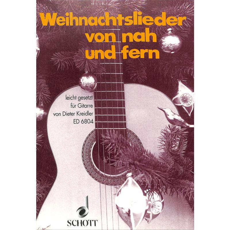 Titelbild für ED 6804 - WEIHNACHTSLIEDER VON NAH + FERN