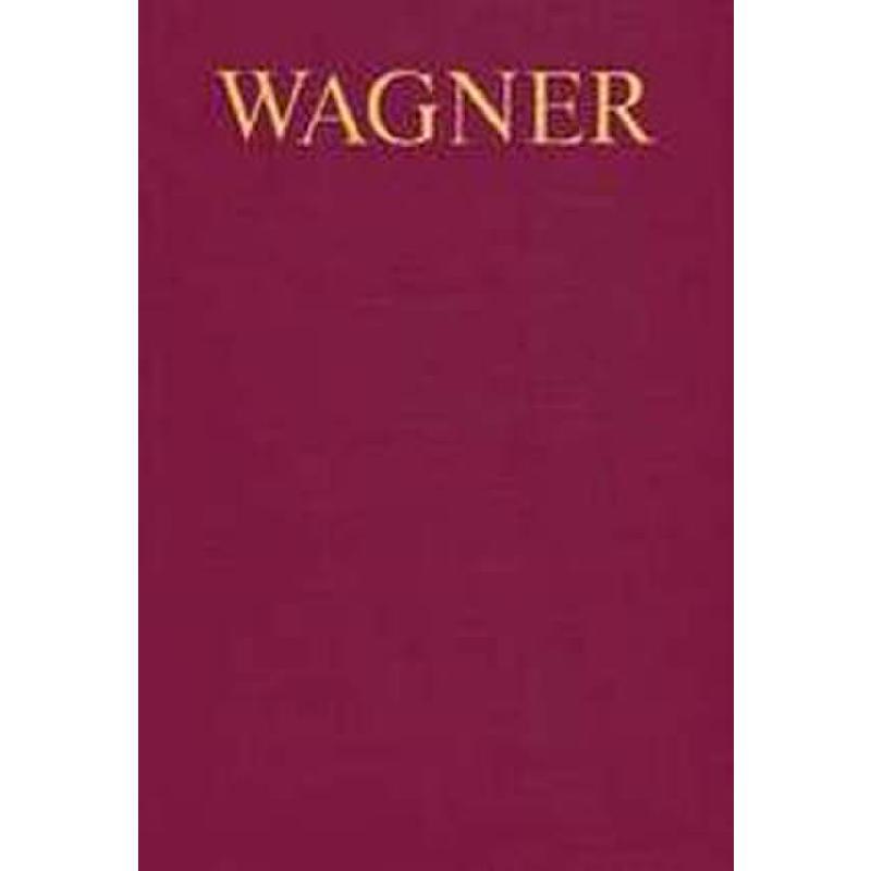 Titelbild für ED 7023 - WAGNER WERK VERZEICHNIS (WWV)