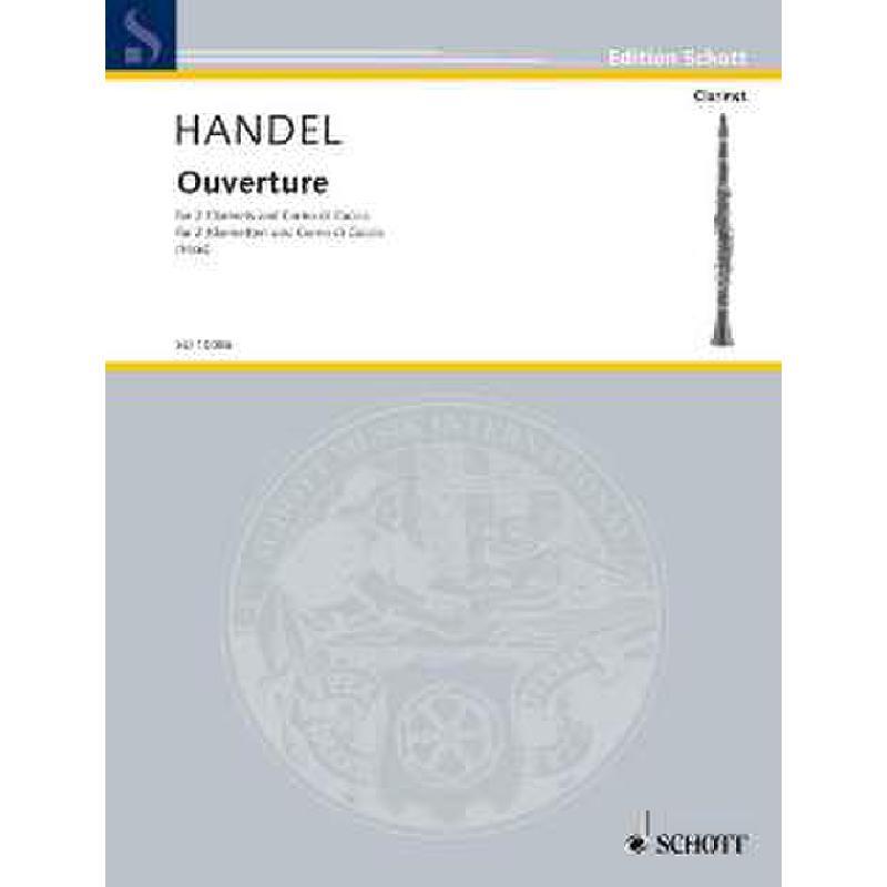 Titelbild für ED 10086 - OUVERTUERE (SUITE)
