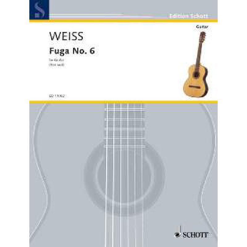 Titelbild für ED 11082 - FUGE NR 6