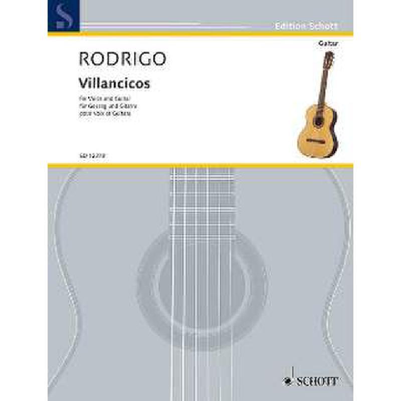 Titelbild für ED 12378 - VILLANCICOS