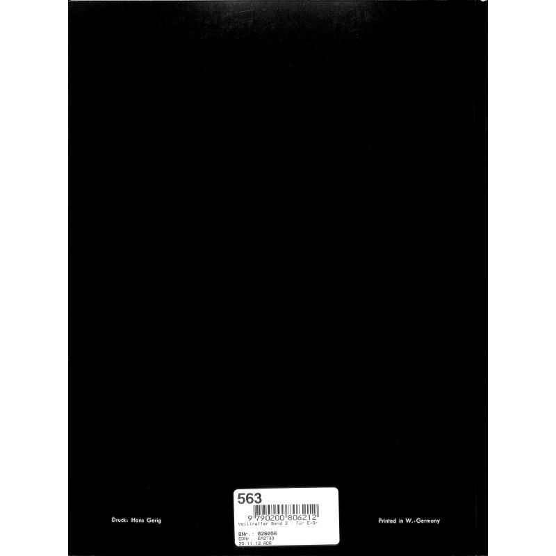 Notenbild für HGEM 2733 - VOLLTREFFER 2