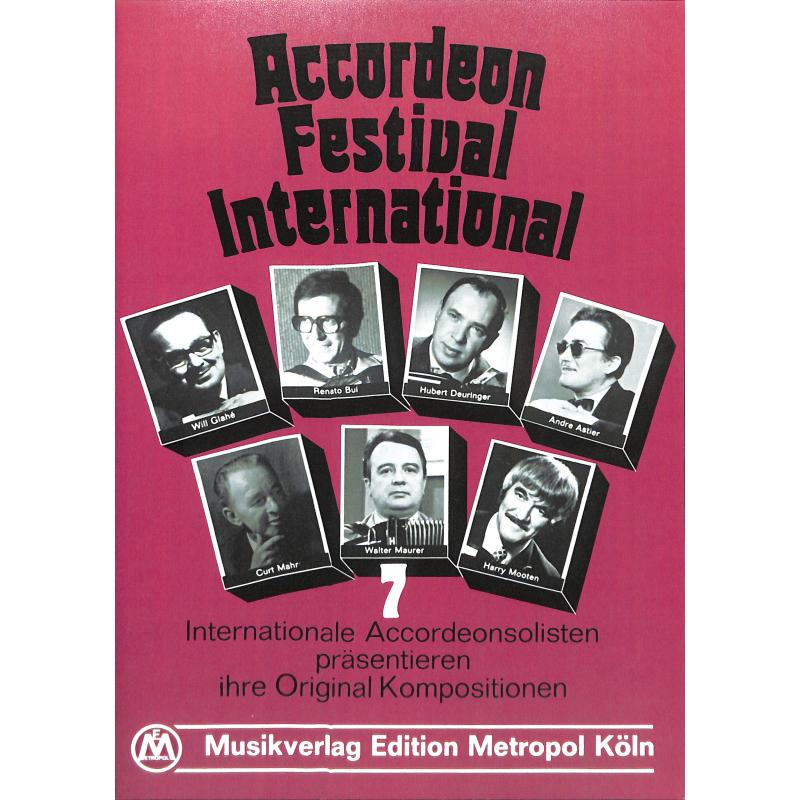 Titelbild für METEMB 794 - ACCORDEON FESTIVAL INTERNATIONAL