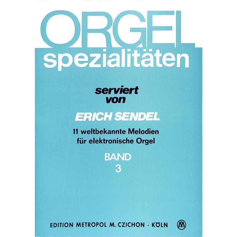 Titelbild für METEMB 810 - ORGEL SPEZIALITAETEN 3