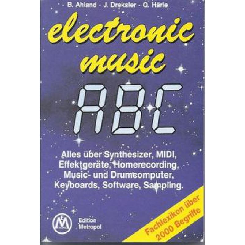 Titelbild für METEMB 832 - ELECTRONIC MUSIC ABC
