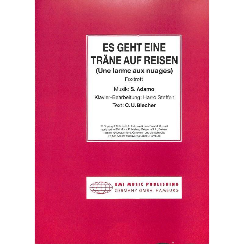 Titelbild für EMI 1029 - ES GEHT EINE TRAENE AUF REISEN