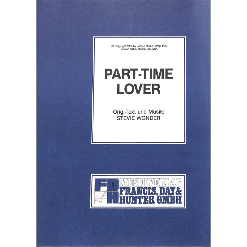 Titelbild für EMI 1045 - PART TIME LOVER