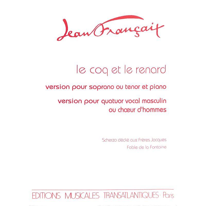 Titelbild für ETR 893 - Coq et le renard
