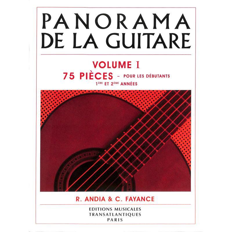Titelbild für ETR 3000 - PANORAMA DE LA GUITARE 1