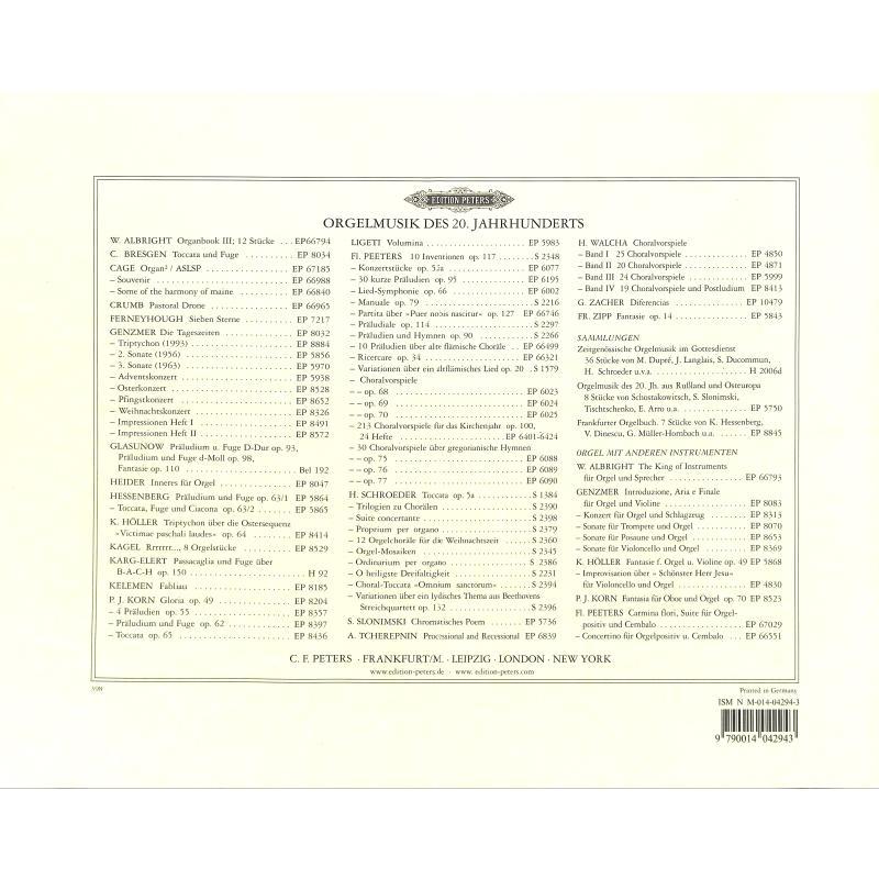 Notenbild für EP 5983 - VOLUMINA