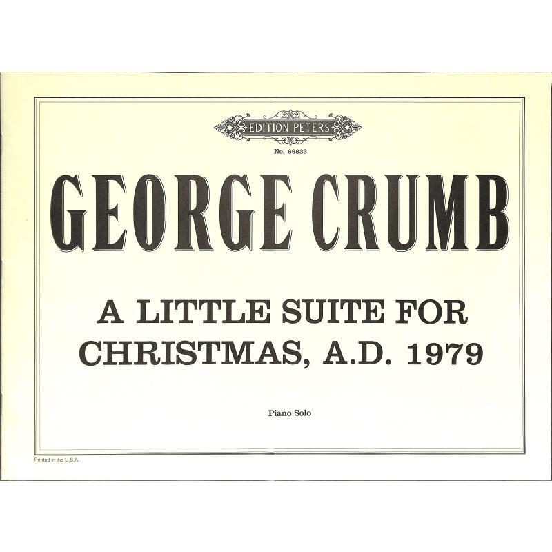 Titelbild für EP 66833 - A LITTLE SUITE FOR CHRISTMAS