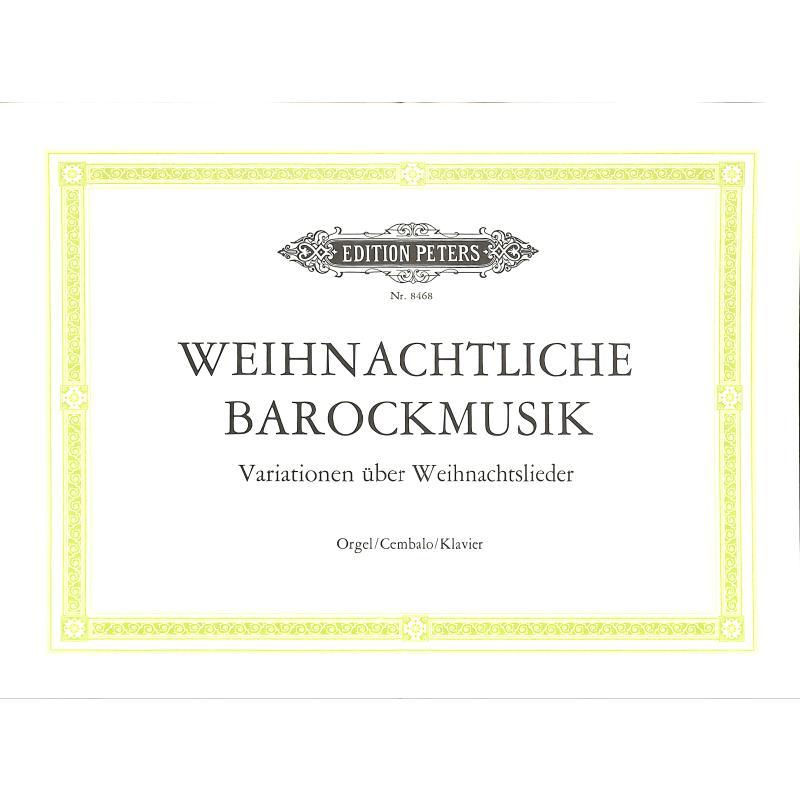 Titelbild für EP 8468 - WEIHNACHTLICHE BAROCKMUSIK