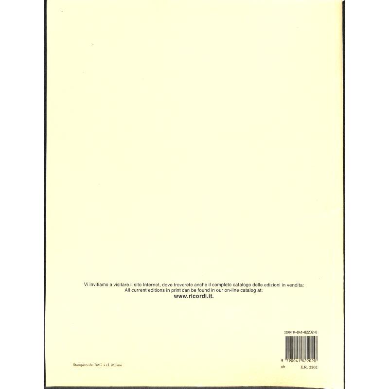 Notenbild für ER 2202 - PASSI DIFFICILI 2