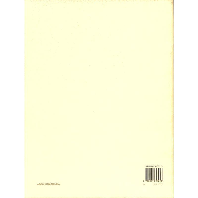 Notenbild für ER 2722 - PASSI DIFFICILI 1