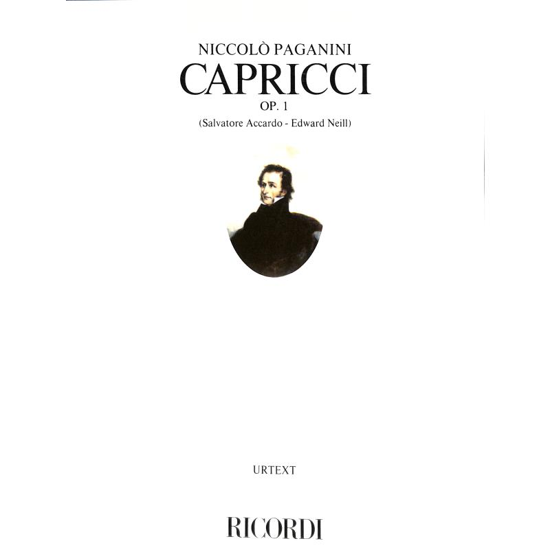 Titelbild für ER 2876 - CAPRICCI OP 1