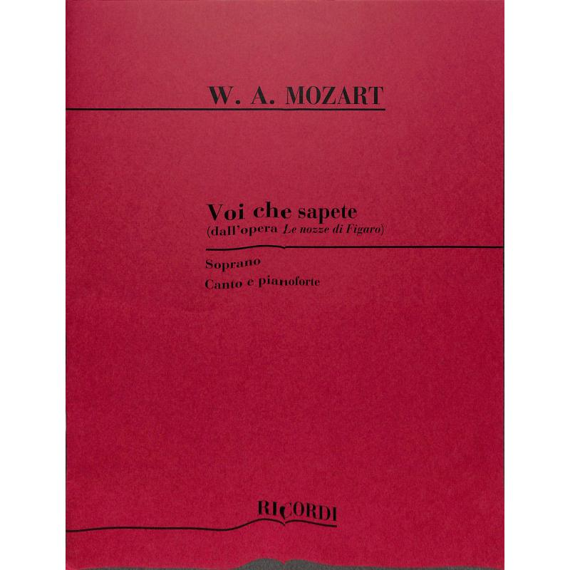 Titelbild für NR 54349 - VOI CHE SAPETE (FIGARO)