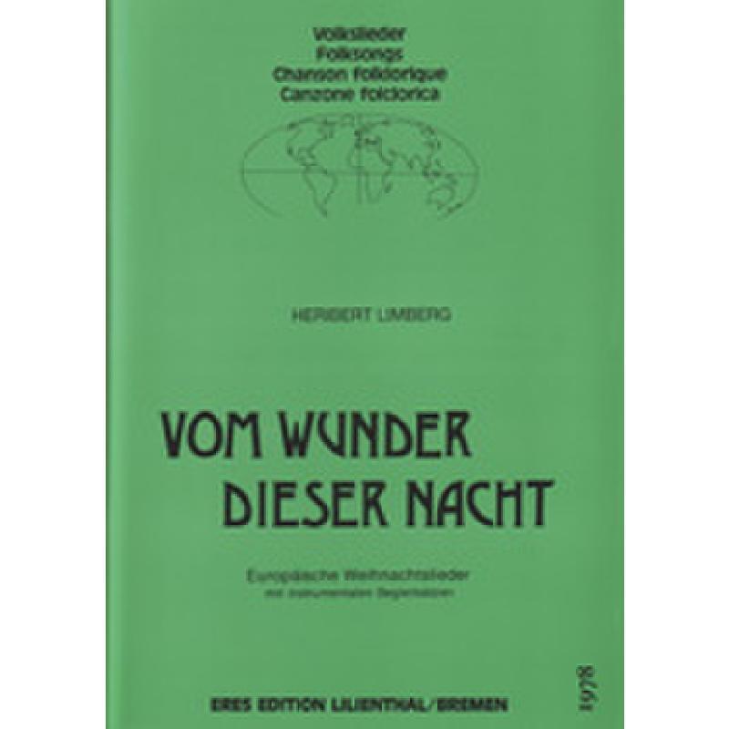 Titelbild für ERES 1978 - VOM WUNDER DIESER NACHT