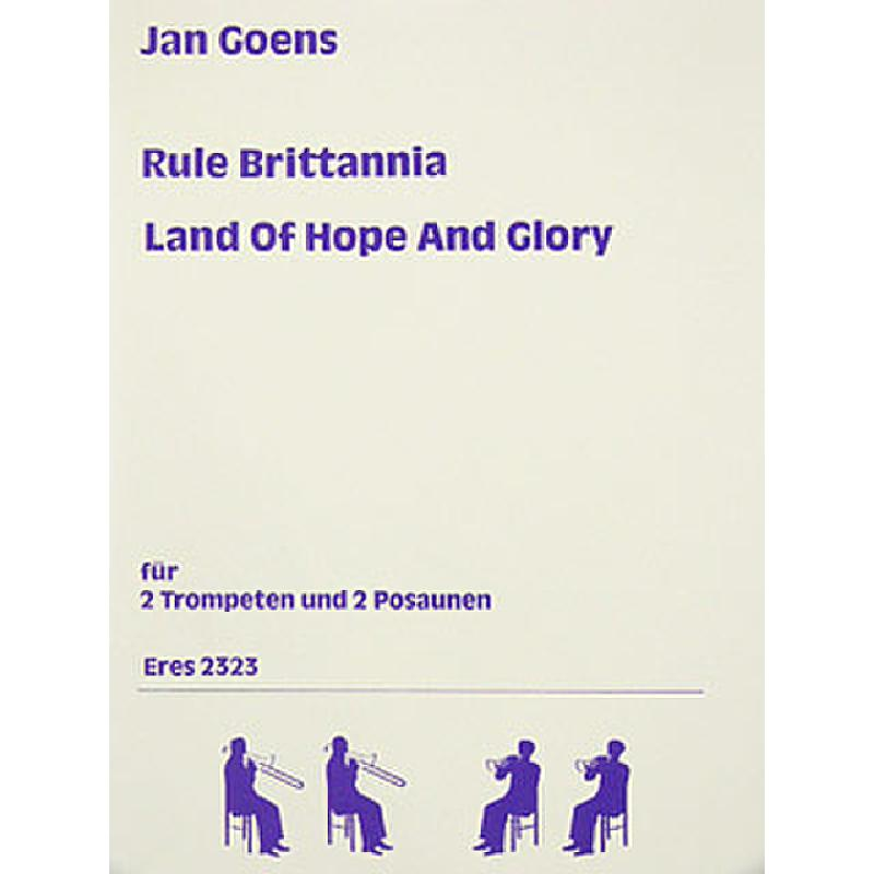 Titelbild für ERES 2323 - LAND OF HOPE AND GLORY + RULE BRITTANNIA