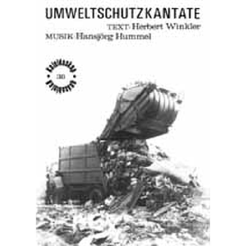 Titelbild für ERES 38 - UMWELTSCHUTZKANTATE
