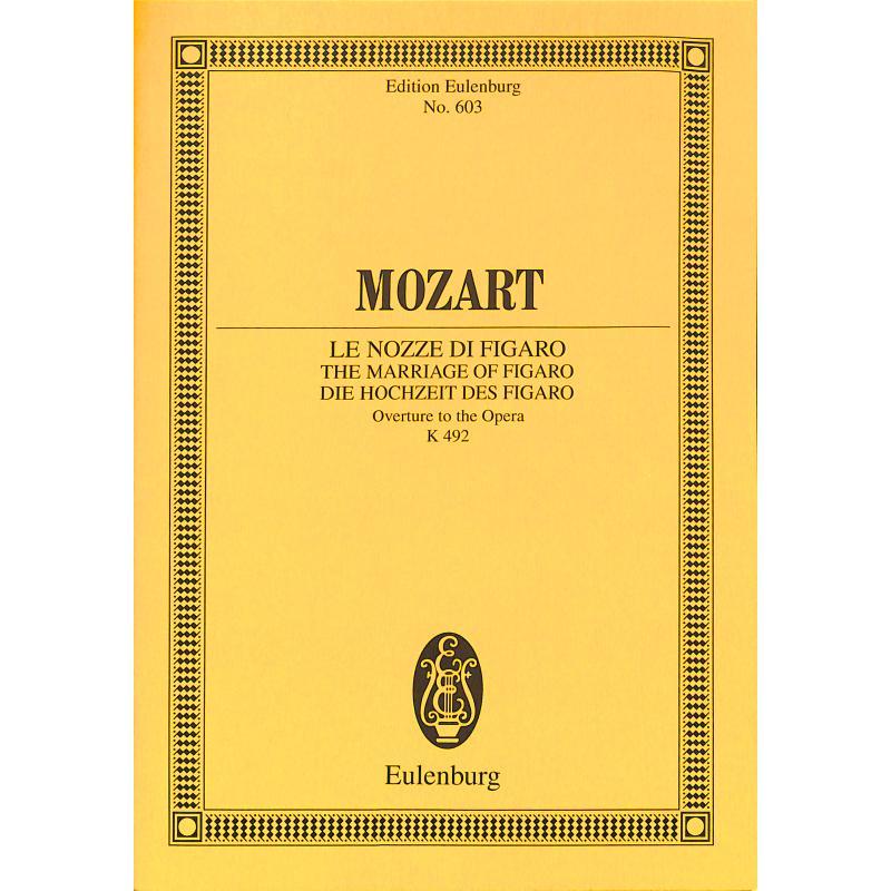 Titelbild für ETP 603 - LE NOZZE DI FIGARO - OUVERTUERE