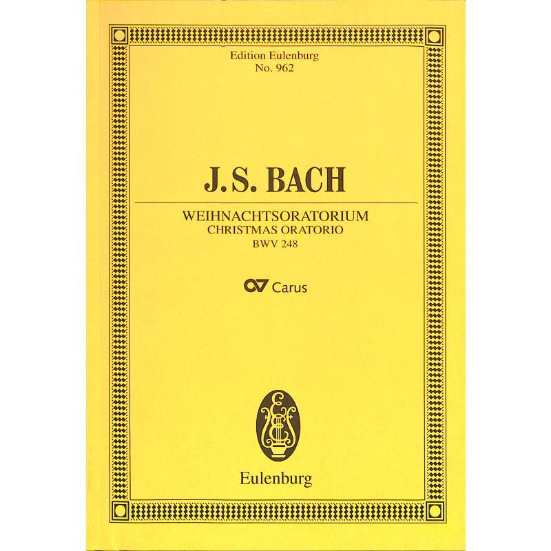 Titelbild für ETP 962 - WEIHNACHTSORATORIUM BWV 248
