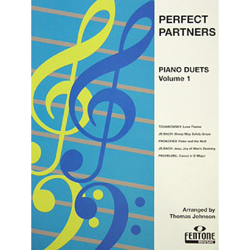 Titelbild für FENTONE 602 - PERFECT PARTNERS 1 PIANO DUETS