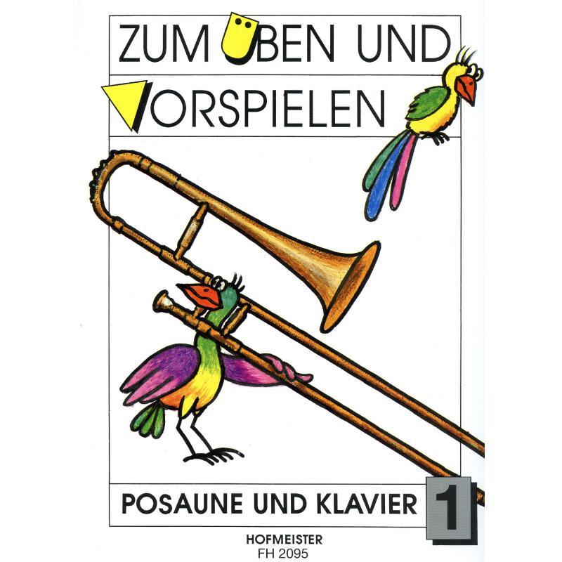 Titelbild für FH 2095 - ZUM UEBEN + VORSPIELEN 1