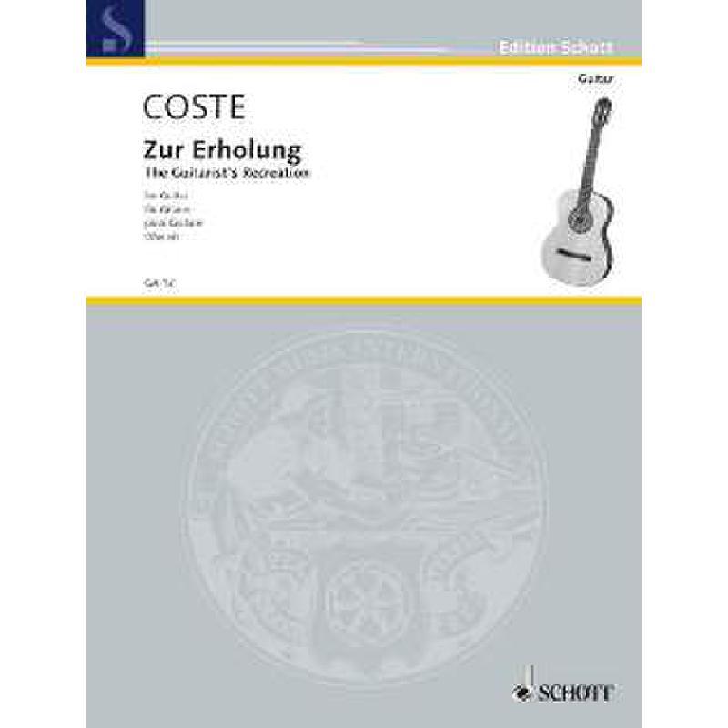 Titelbild für GA 13 - ZUR ERHOLUNG OP 51