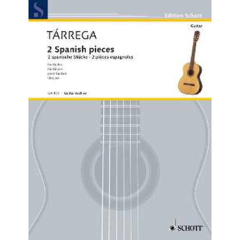 Titelbild für GA 451 - ZWEI SPANISCHE STUECKE