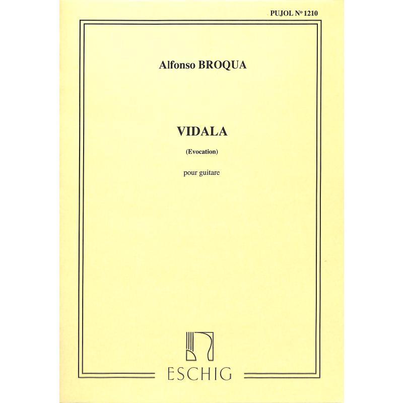 Titelbild für ME 2184 - VIDALA AUS EVOCACIONES CRIOLLAS