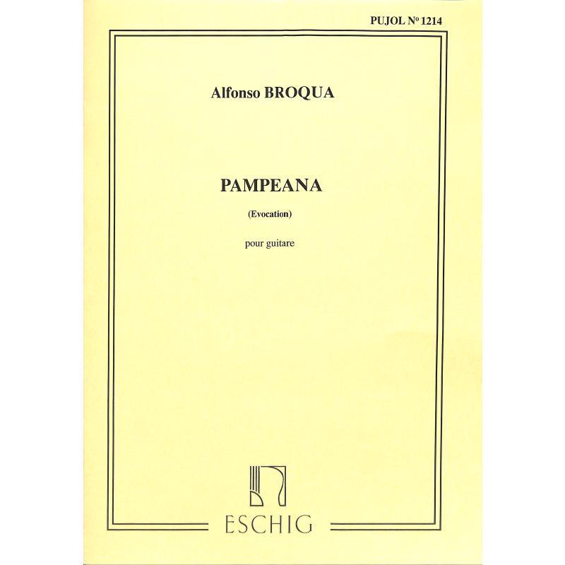 Titelbild für ME 2237 - PAMPEANA AUS EVOCACIONES CRIOLLAS