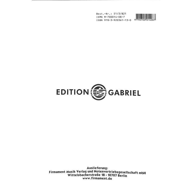 Notenbild für GABRIEL 101-3 - VIOLINSCHULE 3