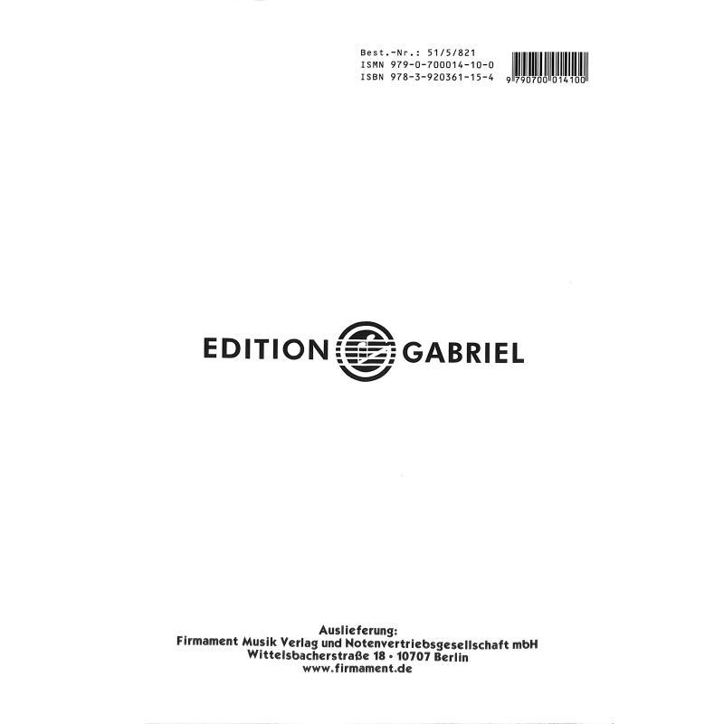Notenbild für GABRIEL 101-5 - VIOLINSCHULE 5