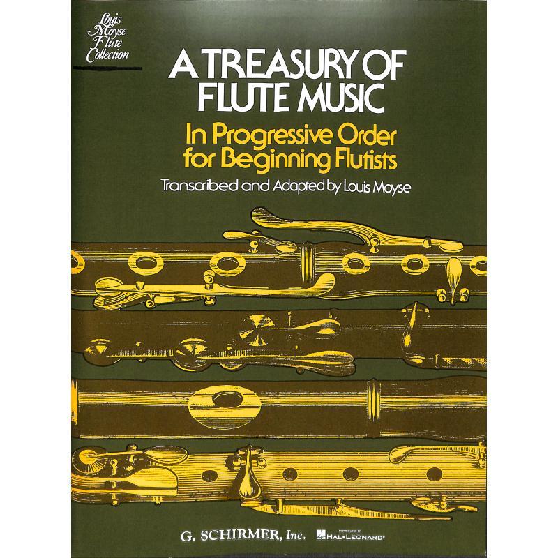 Titelbild für GS 33363 - A TREASURY OF FLUTE MUSIC