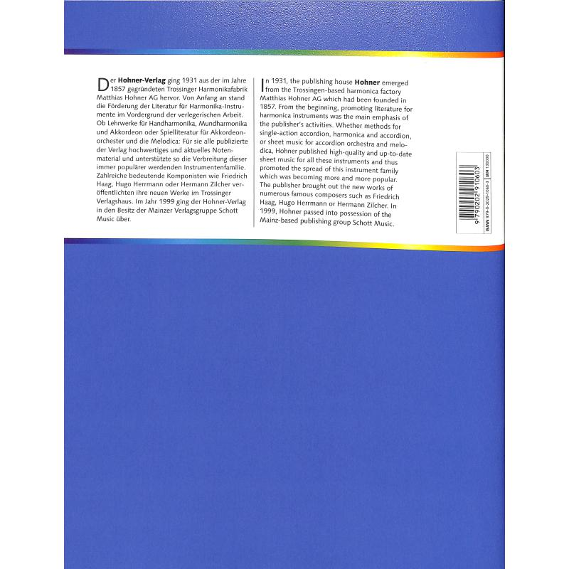 Notenbild für MHV 130030 - WIE SPIELE ICH AKKORDEON