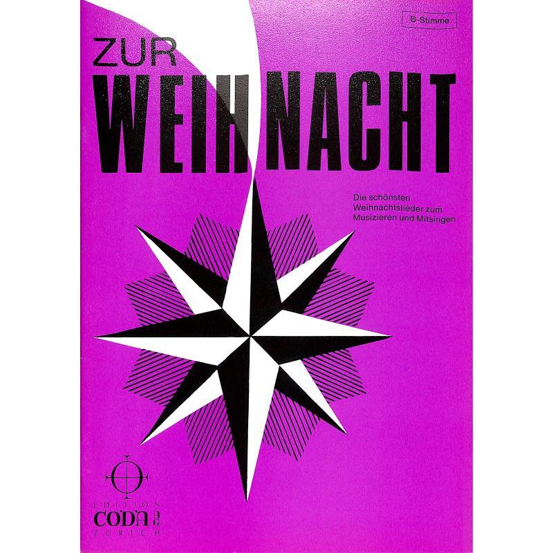 Titelbild für EMZ 2107038 - ZUR WEIHNACHT